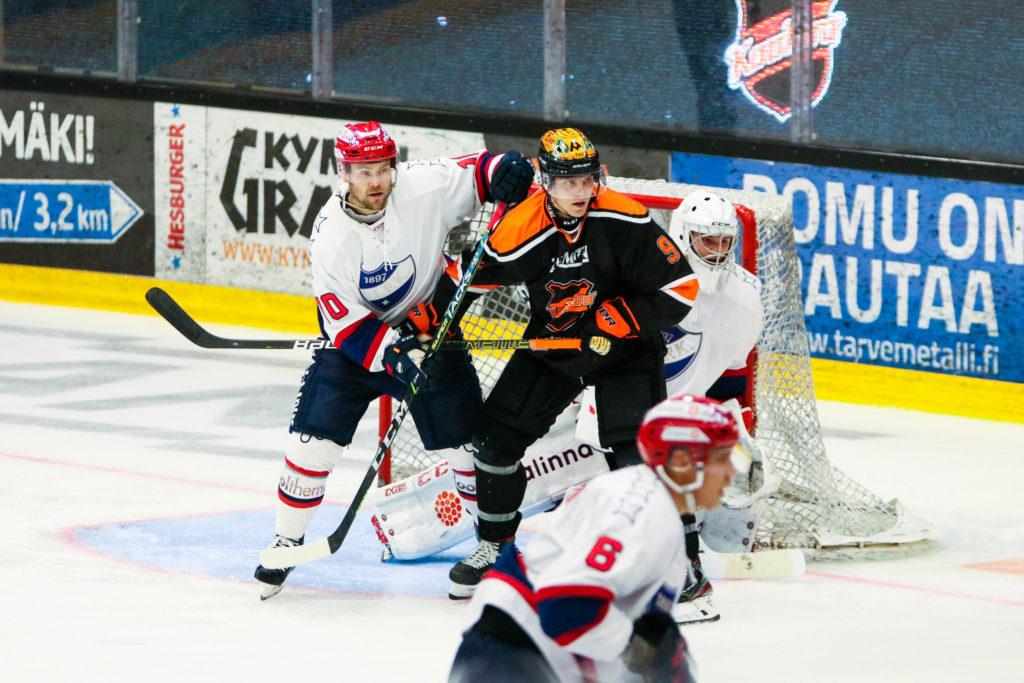 HIFK ja KooKoo kohtasivat Kouvolassa Liigan harjoitusottelussa syyskuussa. HIFK voitti ottelun lukemin 3-2.