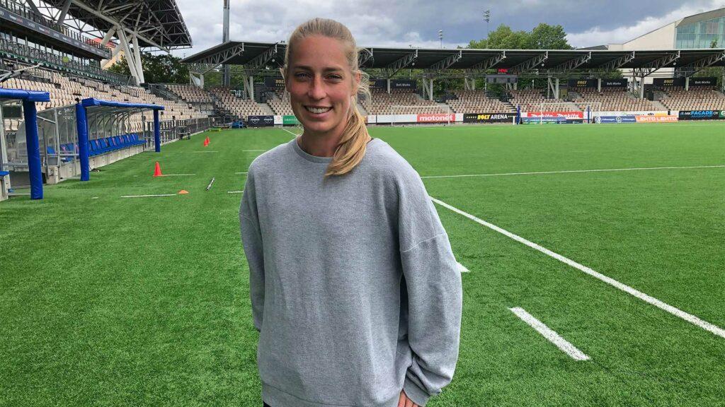 Linda Sällström on urheilija, joka uskaltaa ottaa kantaa yhteiskunnallisiin asioihin.