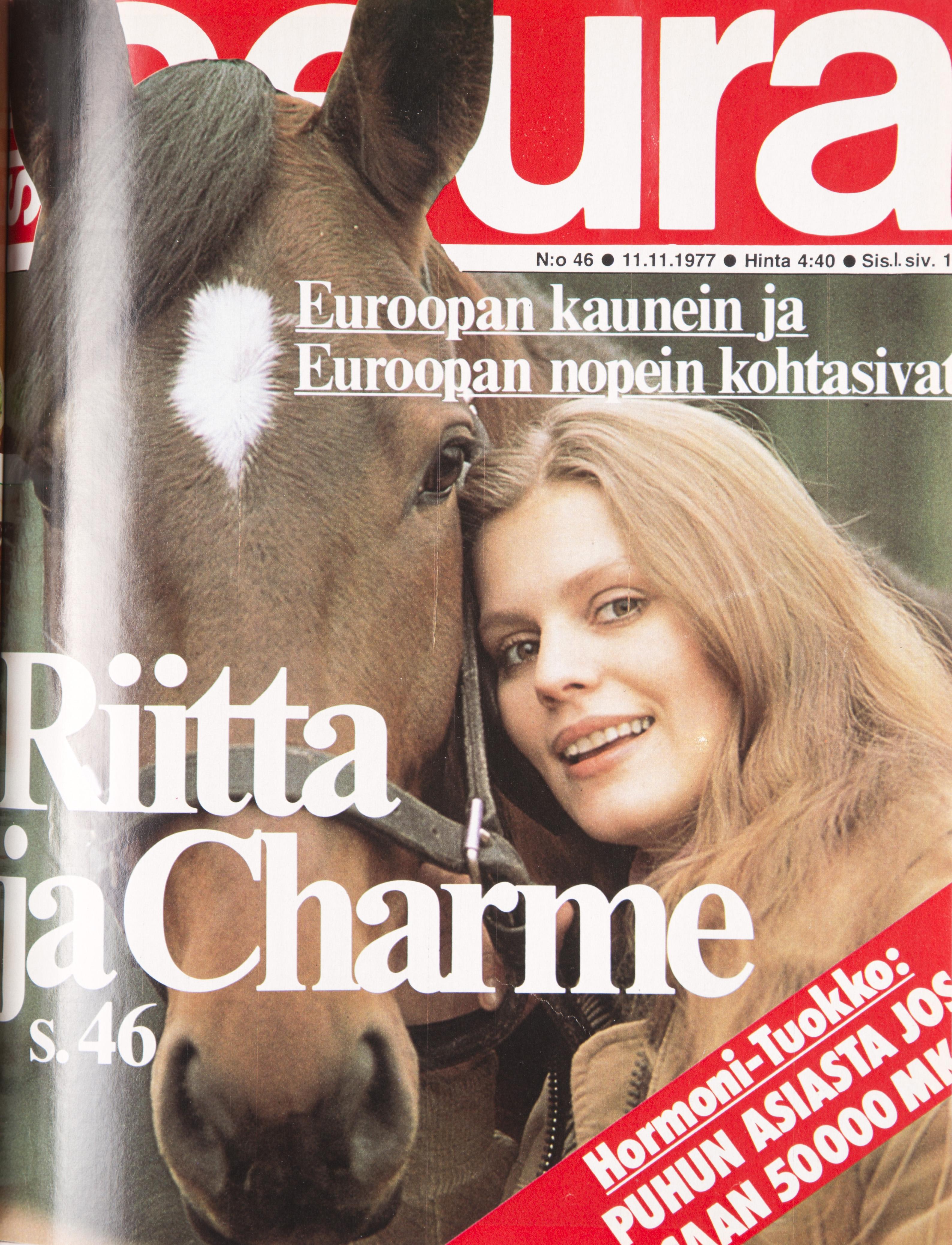 Riitta Väisänen 1976