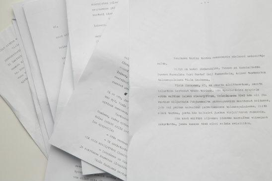 Artikkeli löytyi viime syksynä Seuran edesmenneen päätoimittajan Olli Ohtomiehen jäämistöstä.