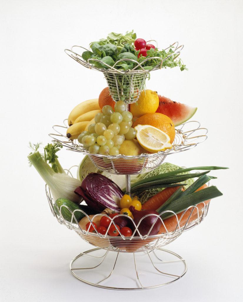 Hedelmiä ja vihanneksia