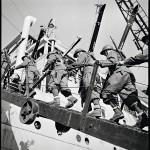 Ranskalaiset sotilaat olivat jo valmiina nousemaan laivoihin ja lähtemään Suomeen, mutta talvisota ehti päättyä ennen operaation alkua.