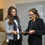 Madeleine tapasi tammikuussa Min Stora Dag - järjestön pääsihteerin Helene Bennon. Madeleine on säätiön suojelija.