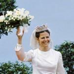 Ihanasti hymyilevästä Silviasta tuli Ruotsin kuningatar vuonna 1976.