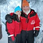 """Jääkiekkolegenda Timo Jutila avioitui ennen joulua Satunsa kanssa. """"Kemiat kohtasivat ja vajaat kaksi vuotta olemme olleet yhdessä. Satu on elämäni löytö"""", Juti ylisti rakastaan."""