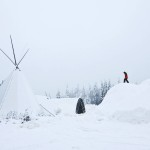 Lumikylän rakentamiseen tarvitaan  noin 20 miljoonaa kiloa tykkilunta.