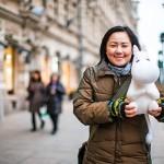 """Suomalaistuneen japanilaistoimittaja Keiko Morishitan lempihahmo on Muumipeikko. """"Hänen uteliaisuutensa on niin viatonta."""""""
