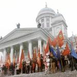 Suomen kommunistinen puolue oli vielä 1980-luvulla voimissaan. Sitten loppuivat raha ja aatteen palo.