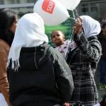 Maahanmuuttajia Helsingissä huhtikuussa 2011.