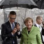Angela Merkel vieraili Suomessa maanantaina.