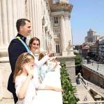 Felipe ja Letizia kruunattiin Espanjan kuningaspariksi kesäkuussa 2014, kun kuningas Juan Carlos vetäytyi syrjään.