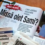 Viimeinen valokuva Samista otettiin torstai-iltana, runsas vuorokausi ennen katoamista.