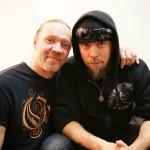 Rumpali Jukka Nevalainen (oik.) on toistaiseksi sivussa Nightwishin kokoonpanosta. Jukkaa tuuraa hänen hyvä ystävänsä Kai Hahto.