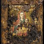 Kozelstsanin Jumalanäidin ihmeitä tekevä ikoni lojui maassa kahdeksan kuukautta. Löydettäessä se oli mutainen ja roskainen.