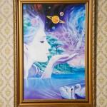 Kauko piti seinällään tätä painokuvaa, jota hän suuresti ihaili.