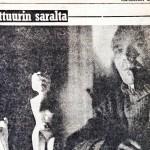 Heikki Turunen alkoi kirjoittaa Simpauttajaa, kun oli tehnyt tämän jutun puunaisia veistelevästä miehestä.