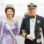 Myös kuningas Kaarle XVI Kustaa ja kuningatar Silvia menivät naimisiin kesäkuussa. Ensi vuonna häistä tulee kuluneeksi 40 vuotta.