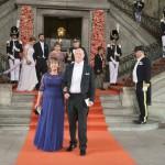 Sofian vanhemmat Marie ja Erik Hellqvist olivat silmin nähden ylpeitä tyttärestään.