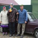 Nazhiya (vas.), Kamil ja Marat Akhmadeeva asuvat Muslyumovon uudessa osassa. Kamil kärsii säteilyn aiheuttamasta hyperaktiivisuudesta.