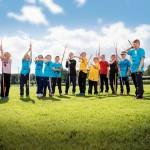 Pihtiputaan keihäskouluun osallistui tänä vuonna reilusti yli 200 junioriheittäjää.