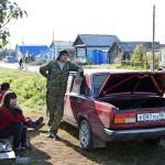Tatarskaya Karaboolan sunnuntai-iltapäivä on aurinkoinen.