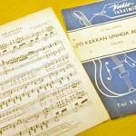 Olavi Virralla oli nuottien painamiseen erikoistunut kirjapaino. Hidas valssi Yö kerran unhoa annoit on laulajan harvoja omia sävellyksiä ja sanoituksia. Virta sävelsi laulun sota-aikana, ja se oli tekijälleen ilmeisen tärkeä, sillä hän levytti sen peräti kolmesti.
