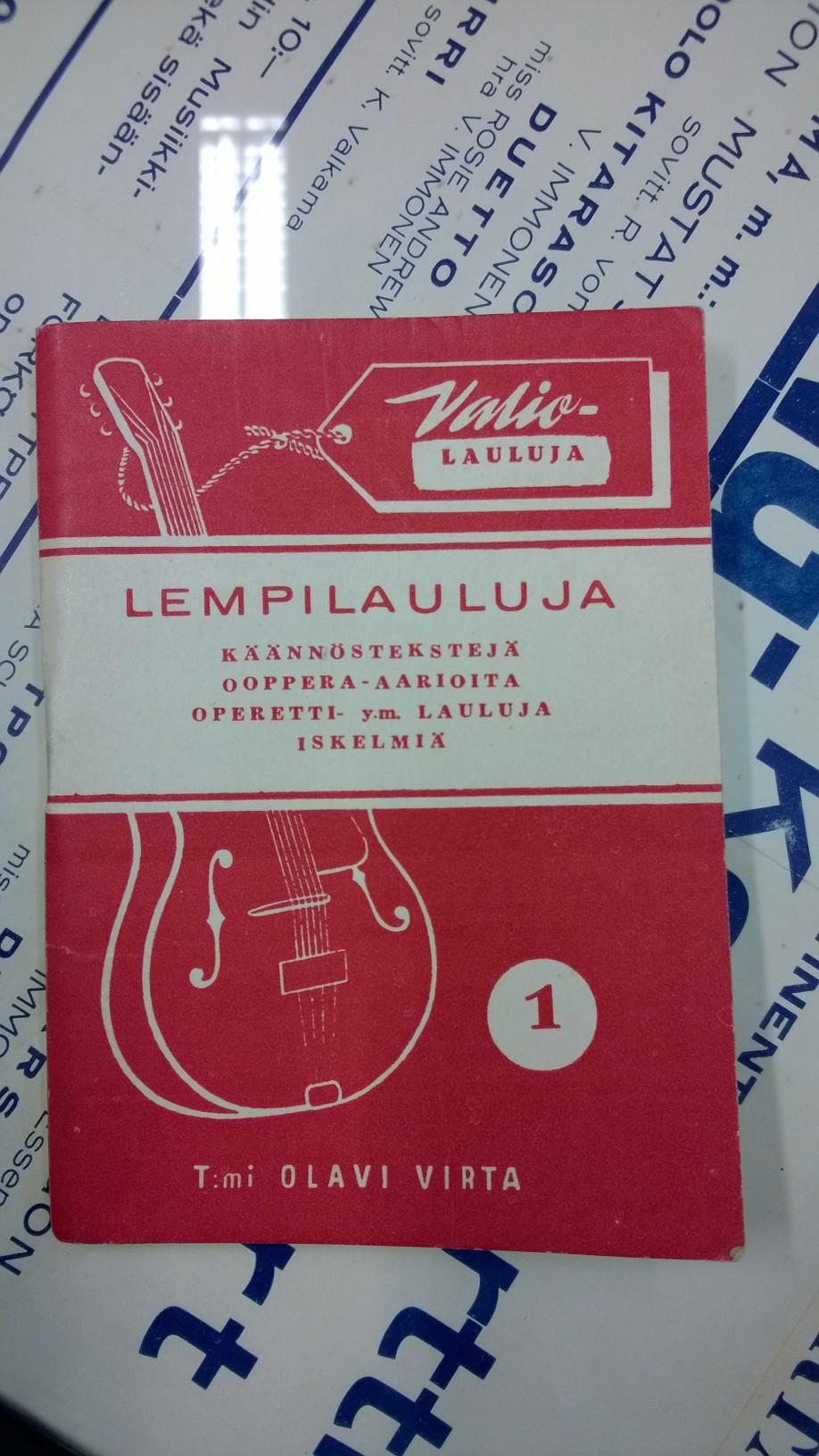 Olavi Virralla oli myös liikemiesvaistoa. Hän perusti Toiminimi Olavi Virran vuonna 1945 ja alkoi kustantaa nuotteja ja harjoittaa musiikkitarvikkeiden kauppaa. Ensimmäisen musiikkiliikkeensä Virta avasi Saloon, myöhemmin toisen Helsinkiin. Toiminimi Olavi Virta toimi Virran kotiosoitteessa Helsingin Pääskylänkadulla ja möi yhdessä vaiheessa myös nauloja ja mattoja.