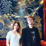 Aasialaiset kielet kiinnostavat Tytti Tuomea ja Antti Saarilahtea. Tuomi opiskelee japania, Saarilahti kiinaa.
