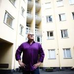 Helsingin Hakaniemen kadut ja porttikongit ovat käyneet Lybäckille tutuiksi.