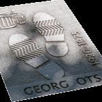 Otsin jalanjäljet on tallennettu Estonian edustalle.