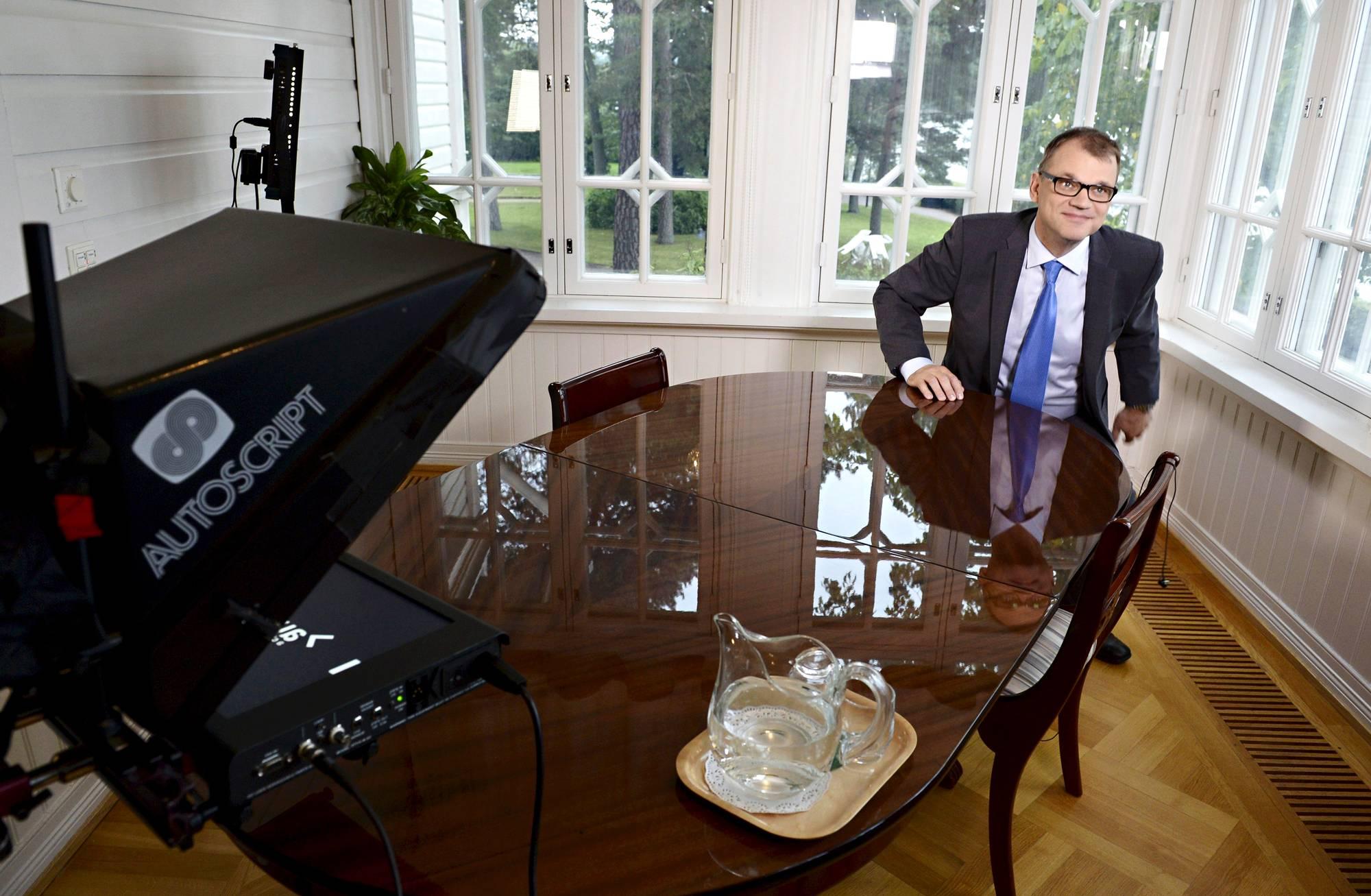 Juha Sipilän puhe