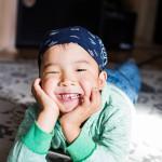 Kauan odotettu Eemil-poika tuli Purasen perheeseen Kiinasta.
