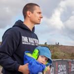Mikko Korhonen on itse motocross-harrastaja. Lassi-pojalle harkitaan jo ensimmäisen moottoripyörän ostoa.