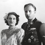 Juutalaisten aarteita natsien haltuun junaillut Hermann Fegelein avioitui Hitlerin rakastajattaren Eva Braunin siskon Gretlin kanssa.