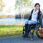 Huonoina päivinä Sanna Palm käyttää pyörätuolia. Huonoja päiviä on ollut viime aikoina entistä enemmän.