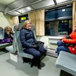 Jos Juupajoen junavuorot lakkautetaan, Paula Luuri (oik.) aikoo ryhtyä oman auton käyttäjäksi.