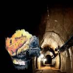 Suosituiksi tulleiden puolalaisten T-paitojen rintamuksessa kuvitteellinen aarrejuna kiitää kohti Ksiazin linnaa, jonka alla mahdollisesti oleva luola saattaa olla osa osa Projekti Jättiläisen luolastoa. Vieressä osa esiinkaivettua Walbrzychin läheistä luolastoa.