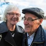 Raili ja Lauri Tuovinen ovat lomailleet Tanhuvaarassa jo 12 vuoden ajan.