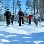 Luonto on osa urheiluopistoelämystä. Vierumäelläkin on tarjolla talven riemuja.