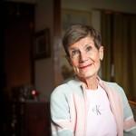 Lyhyt tukka on muisto rintasyövästä, jonka Tarja-Liisa Lindqvist sairasti yhdeksän vuotta sitten.