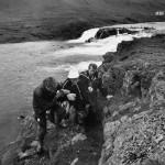 Jo elokuussa 1977 Kekkonen kompuroi kalastusmatkalla Islannissa.