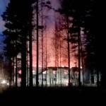 Niinisalossa poltettiin joulukuun alussa maan tasalle kokonainen kerrostalo.