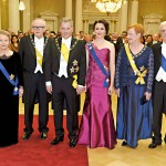 Juhlissa nähtiin kolme presidenttiparia: Eeva ja Martti Ahtisaari, Sauli Niinistö ja Jenni Haukio sekä Tarja Halonen ja Pentti Arajärvi.