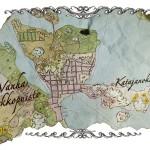 Hautausmaa perustettiin Helsingin silloisille laitamille, jonne myös meri ulottui.