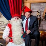 """""""Joulupukkia monet ovat yrittäneet omia, mutta eivät ole onnistuneet"""", Pertti Yliniemi sanoo."""