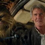 Chewbacca (Peter Mayhew) ja Han Solo (Harrison Ford) jatkavat junioreiden sankareina.