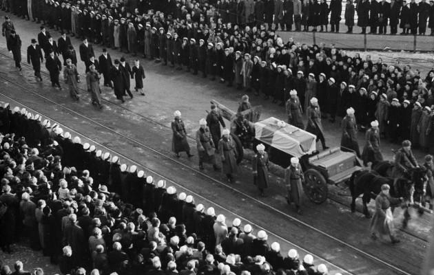 Mannerheimin Hautajaiset