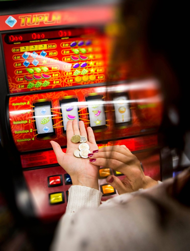 rahapeliautomaatti