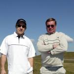 Tässä on Suomi-kiekon kovin isä-poika-pari. Tunnistatko? Niklas ja Matti Hagman kuvassa, joka on vuodelta 2004.