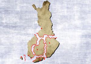 Suomi osavaltiot